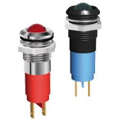 LED Φ14 mm με μεταλλικό περίβλημα Σύνδεση με ακροδέκτη 2,8x0,8
