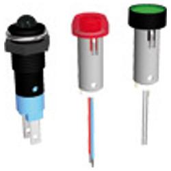 LED Φ7 & Φ8 mm με πλαστικό περίβλημα Σύνδεση με ακίδα η ακροδέκτη 2,8x0,5