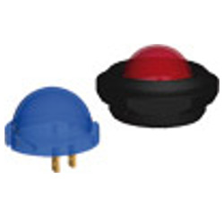 LED 20 mm. Σύνδεση με ακροδέκτη 2,8x0,8