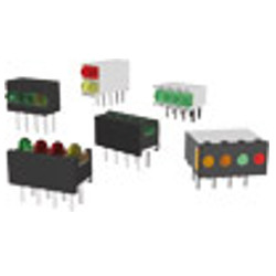 LED Arrays With 2,5mm LED, upright and angled