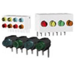 LED Arrays With 3mm-LED, angled