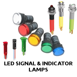 LED SIGNAL & INDICATOR LAMPS